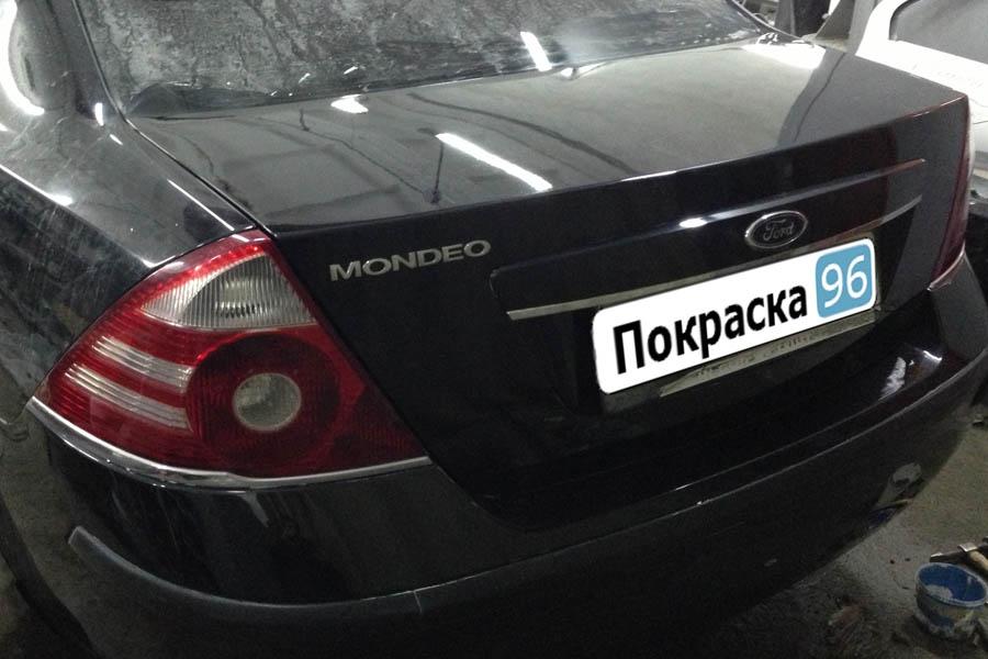 Покраска багажника мондео Замер компрессии авео т300