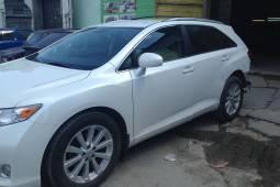Toyota Venza 2013 замена и прокраска заднего бампера, ремонт и покраска задней левой двери