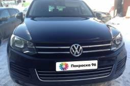 Volkswagen Touareg 2nd generation 2011 ремонт и покраска заднего правого крыла 201411