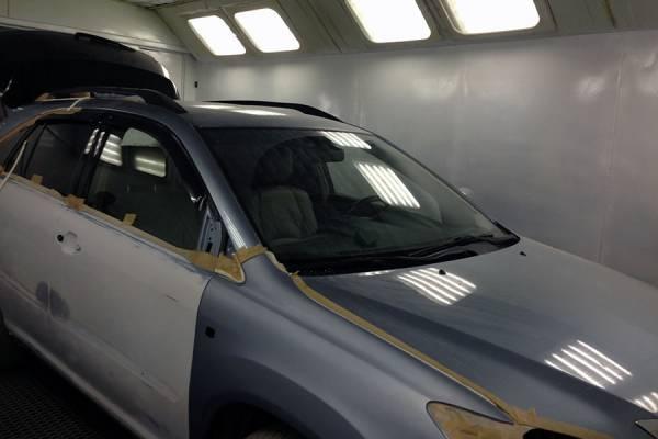 Кузовной ремонт иномарок.