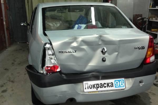 Локальный кузовной ремонт в Екатеринбурге.