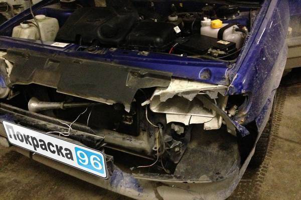 Кузовной ремонт автомобиля в Екатеринбурге.