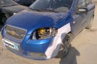 Chevrolet Aveo 2007 ремонт и покраска бамперов, передних крыльев, правых дверей - 20120920