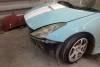 Toyota Celica 230 2001 ремонт и покраска переднего бампера 20121101