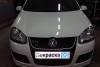 VW Golf GTI 5 2007 ремонт и покраска крышки багажника, бамперов, заднего правого крыла 20130321