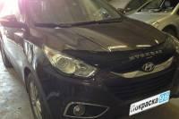 Hyundai i35 2012 ремонт и покраска задней крышки багажника, заднего бампера 20130628